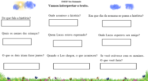 Interprete o texto