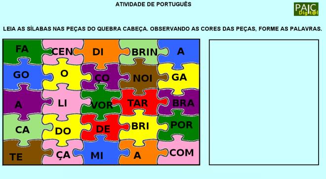 convivência, escrita,leitura,Português,reflexão,TuxPaint