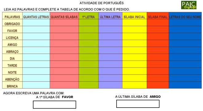 escrita,reflexão,convivência,Português,TuxPaint