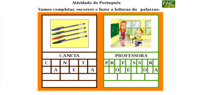 alfabeto,escola,escrita,leitura,Português,TuxPaint