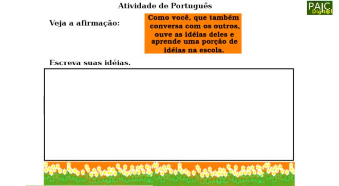 escola,produção textual,Português,TuxPaint