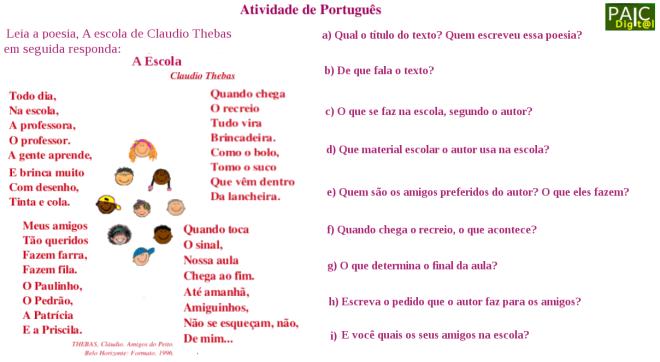 escola,escrita,interpretação de texto,leitura,Português,TuxPaint