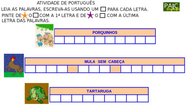escrita,fábulas,mitos,leitura,Português,TuxPaint