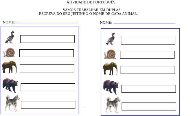 animais,escrita,leitura,TuxPaint