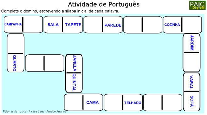 escrita,leitura,Português,TuxPaint
