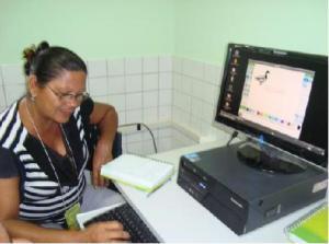 , professores indígenas,inclusão digital, Tuxpaint