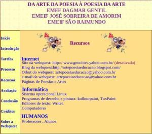Recursos, Webquest, arte, poesia, TuxPaint
