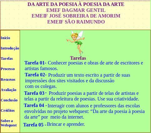 Arte e Poesia - Webquest (3/6)