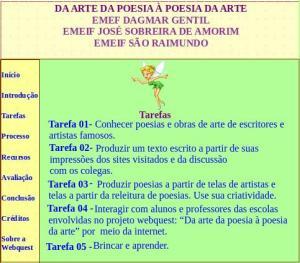 Tarefas, Webquest, arte, poesia, TuxPaint