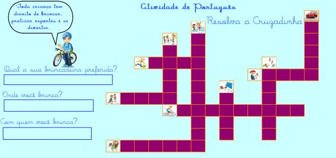 escrita,brincadeiras,folclore,Português,TuxPaint