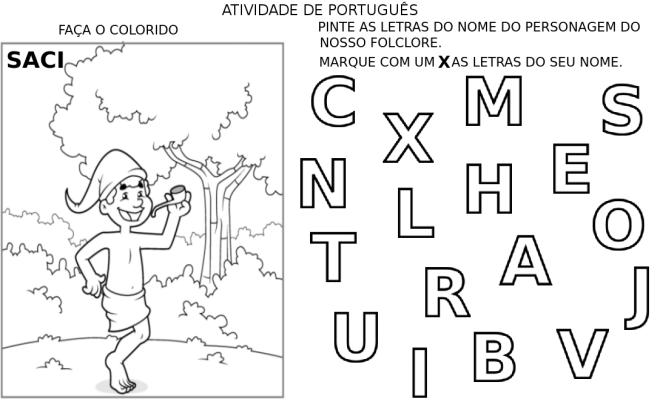 escrita,folclore,leitura,pré-silábico,TuxPaint